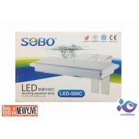 Đèn Led Sobo 500C 2 màu cho hồ cá